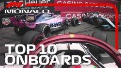 10 برخورد خطرناک در مسابقات فرمول یک موناکو