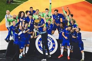 جشن کامل قهرمانی چلسی در لیگ اروپا 2019