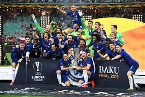 چلسی فاتح بزرگ فینال لیگ اروپا در باکو
