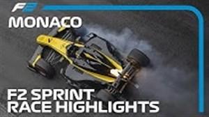 گزیدهی از مسابقه فرمول دو با حداکثر سرعت