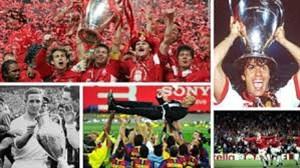 گزیده ای از جذابترین فینال های لیگ قهرمانان اروپا