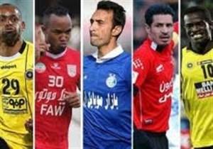 بهترین مهاجمان تاریخ لیگ برتر