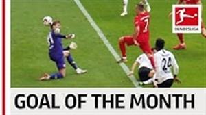 گل فرانک ریبری برترین گل ماه می بوندسلیگا 19-2018