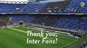 تقدیر و تشکر باشگاه اینتر از حمایت همیشگی هوادارانش