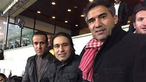 تبریک مهدوی کیا به احمدرضاعابدزاده به مناسبت تولد