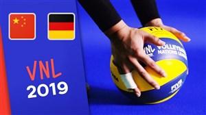خلاصه والیبال آلمان 3 - چین 2 (لیگ جهانی)