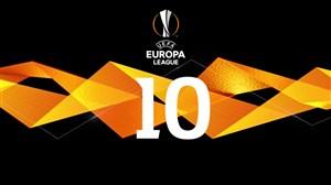 10 گل برتر لیگ اروپا فصل 19-2018