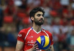 امیر غفور امتیاز آور ترین بازیکن ایران - چین