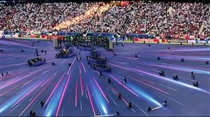 مورچه های کارگر در زمین فینال لیگ قهرمانان اروپا