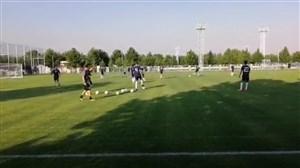 اولین تمرین تیم ملی فوتبال ایران زیر نظر مارک ویلموتس