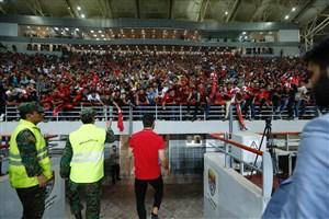 خسارتهای وارد شده به ورزشگاه فولاد آرنا