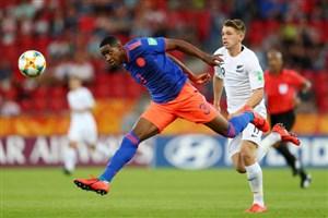 خلاص بازی کلمبیا 1 - نیوزلند 1 + پنالتی (جام جهانی جوانان)