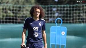 تمرین تیم ملی فرانسه (13-03-98)