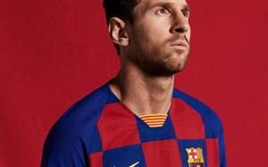 رونمایی از لباس بارسلونا در فصل 20-2019