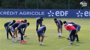 تمرین تیم ملی فرانسه (14-03-98)