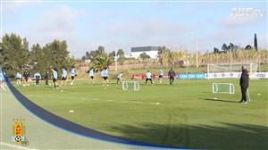 تمرین تیم ملی اروگوئه (14-03-98)