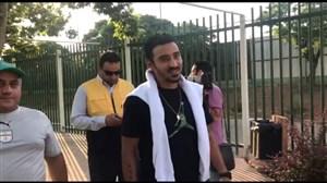 حضور قوچان نژاد در تمرین تیم ملی