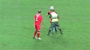 رکورد جهانی جیمی جامپ ; ۵ هوادار برهم زننده نظم در فینال حذفی