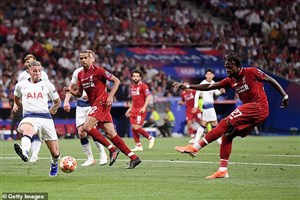 گل اوریگی در فینال لیگ قهرمانان اروپا از نماهای متفاوت