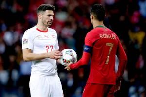 خلاصه بازی پرتغال 3 - سوئیس 1(هتریک رونالدو)
