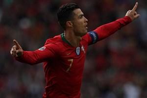 گل ضربه ایستگاهی رونالدو به سوئیس از نگاه هواداران