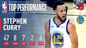 عملکرد دیدنی استفان کری در فینال NBA