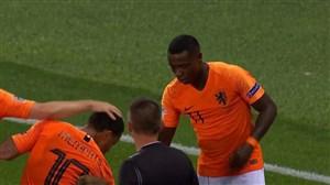 گل دوم هلند به انگلیس (پرومس)