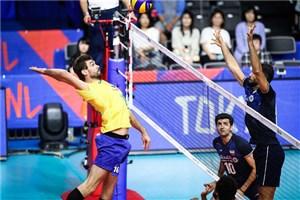 نگاهی به اولین شکست ایران در لیگ ملت های والیبال