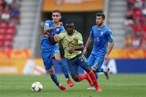 خلاصه بازی کلمبیا 0 - اوکراین 1 (جام جهانی زیر 20 سال)