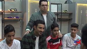 حضور رضا قوچان نژاد در پشت صحنه برنامه ستاره ساز