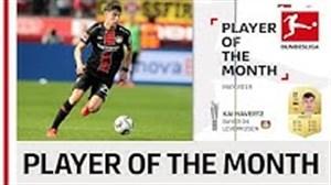 بهترین بازیکن ماه می بوندسلیگا از بایر لورکوزن