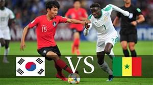 خلاصه بازی سنگال 3 - کره جنوبی 3 + پنالتی
