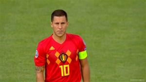 بمناسبت صدمین بازی هازارد برای بلژیک