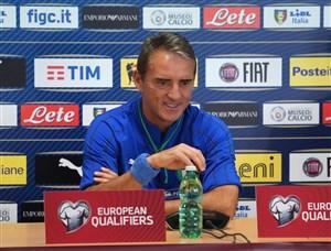 مانچینی: از ایتالیا انتظار بیشتری دارم
