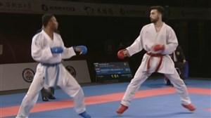 نائبقهرمانی علی کریمی در لیگجهانی کاراته چین