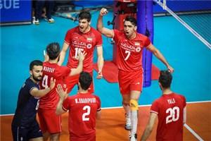 ورود کاروان تیم ملی والیبال به سالن رضازاده