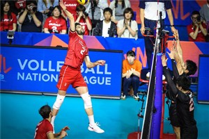 عبادیپور امتیازآورترین بازیکن ایران مقابل برزیل شد