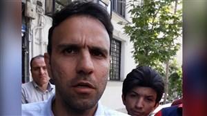 حرفهای محسن خلیلی در جمع هواداران پرسپولیس
