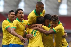 خلاصه بازی برزیل 7 - هندوراس 0 (دوستانه)