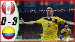 خلاصه بازی پرو 0 - کلمبیا 3 (دوستانه ملی)