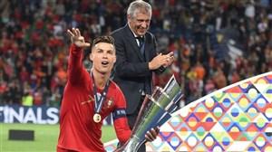 اولین جام ملت های اروپا در دستان رونالدو
