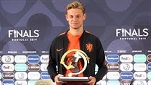جایزه بهترین بازیکن جوان لیگ ملت های اروپا به دی یانگ