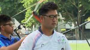 72 ضربه تماشایی کیم ووجین در مسابقات تیروکمان