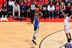 پرتاب های 3 امتیازی گلدن استیت در بازی پنجم فینال NBA