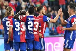 پنج گل برتر تیم بازل در فصل 19-2018