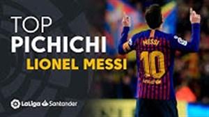 لیونل مسی برنده جایزه PICHICHI از طرف روزنامه مارکا