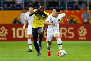 خلاصه بازی اکوادور 0 - کره جنوبی 1 (جام جهانی جوانان)