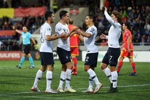 خلاصه بازی آندورا 0 - فرانسه 4 (مقدماتی یورو)