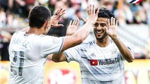 گلزنی کارلوس ولا در جام حذفی آمریکا
