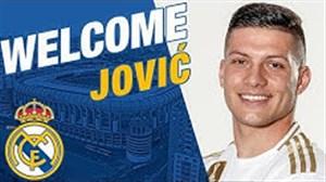 خوش آمدگویی باشگاه رئال مادرید به یوویچ